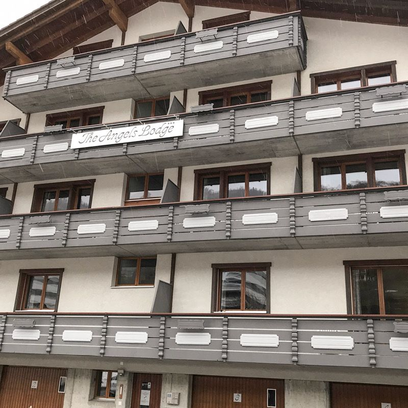 Neues Projekt: Angels Lodge Engelberg.